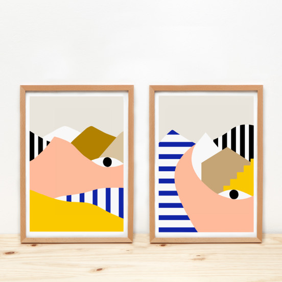 Depeapa Illustrations Prints